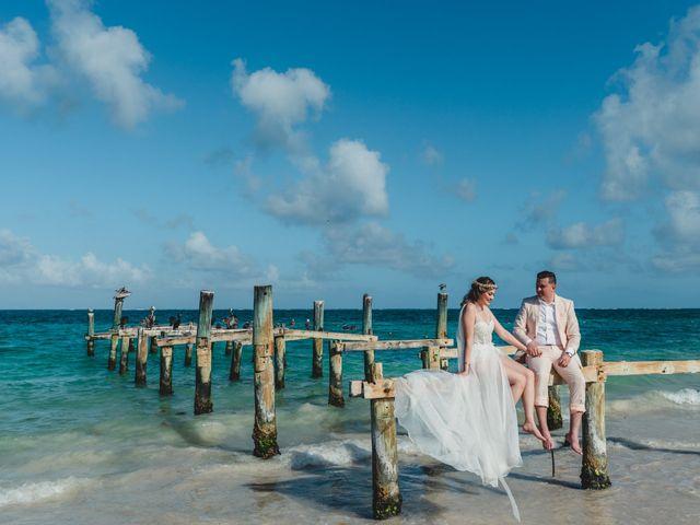 La boda de Luis y Bere en Puerto Morelos, Quintana Roo 9