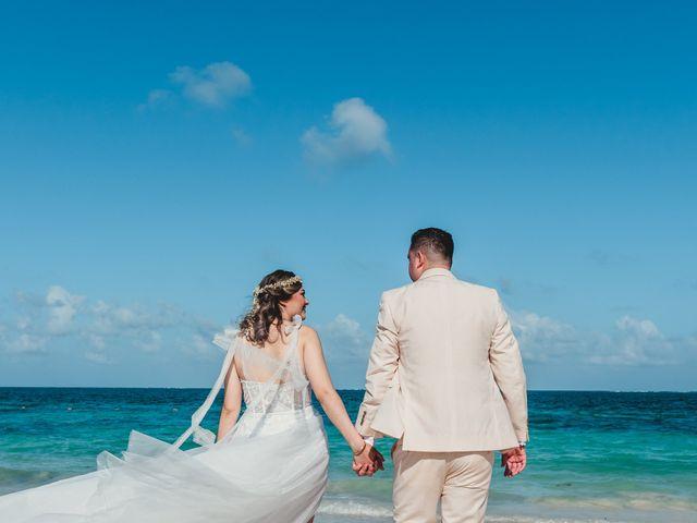 La boda de Luis y Bere en Puerto Morelos, Quintana Roo 10