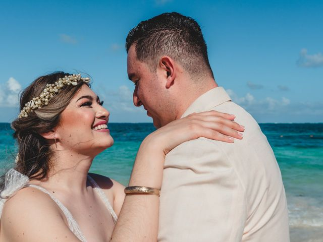 La boda de Luis y Bere en Puerto Morelos, Quintana Roo 11