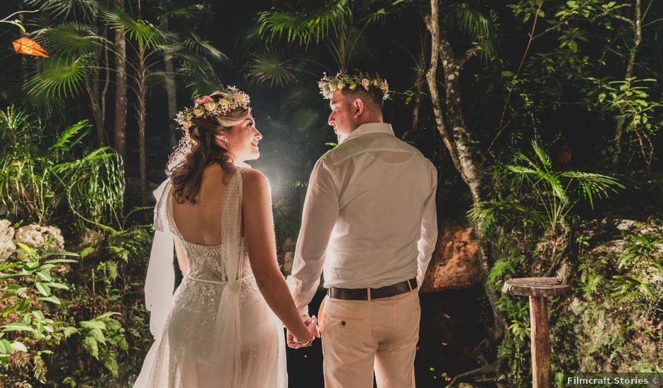 La boda de Luis y Bere en Puerto Morelos, Quintana Roo