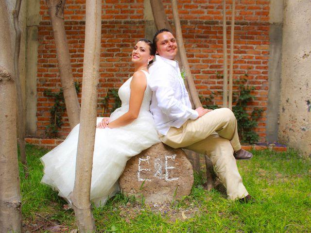 La boda de Elizabeth y Edgar