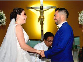La boda de Gaby y Debrick