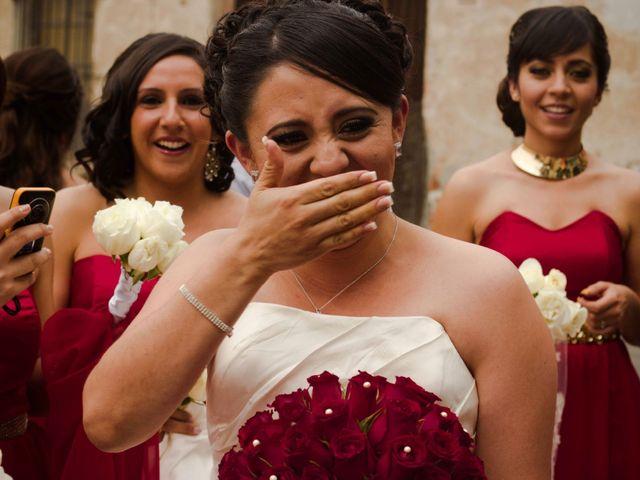 La boda de Rafaél y Giselle en Tepotzotlán, Estado México 7