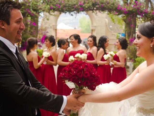 La boda de Rafaél y Giselle en Tepotzotlán, Estado México 8