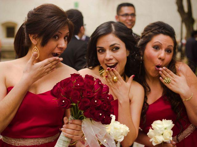 La boda de Rafaél y Giselle en Tepotzotlán, Estado México 9