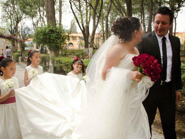 La boda de Rafaél y Giselle en Tepotzotlán, Estado México 21