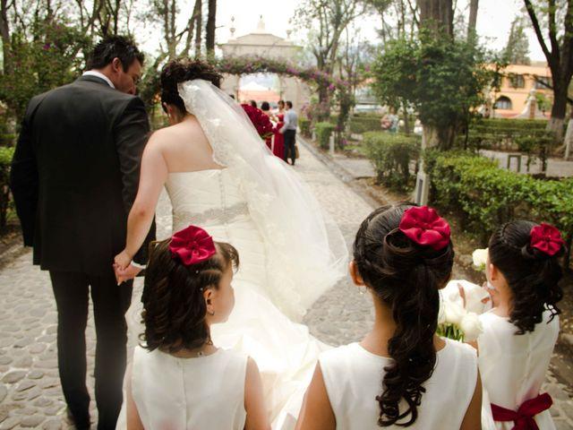 La boda de Rafaél y Giselle en Tepotzotlán, Estado México 22