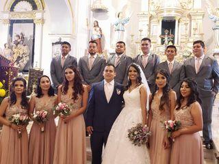 La boda de Marleni y José