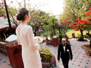 La boda de Grecia  y Alfredo 1