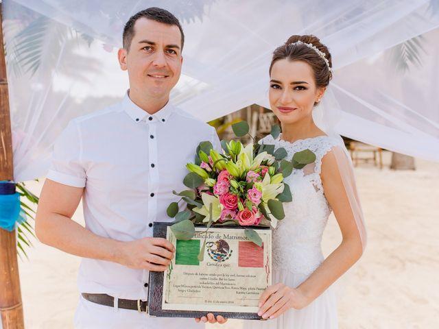 La boda de Karina y Sergey