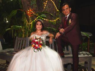 La boda de Shiomara y Azael 1
