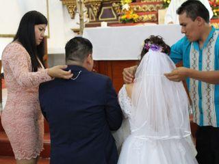 La boda de Noemí  y Damián
