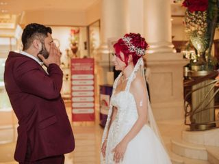 La boda de Isamar y Nissim 1