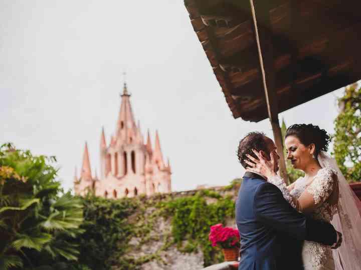 La boda de Rebeca y Otman