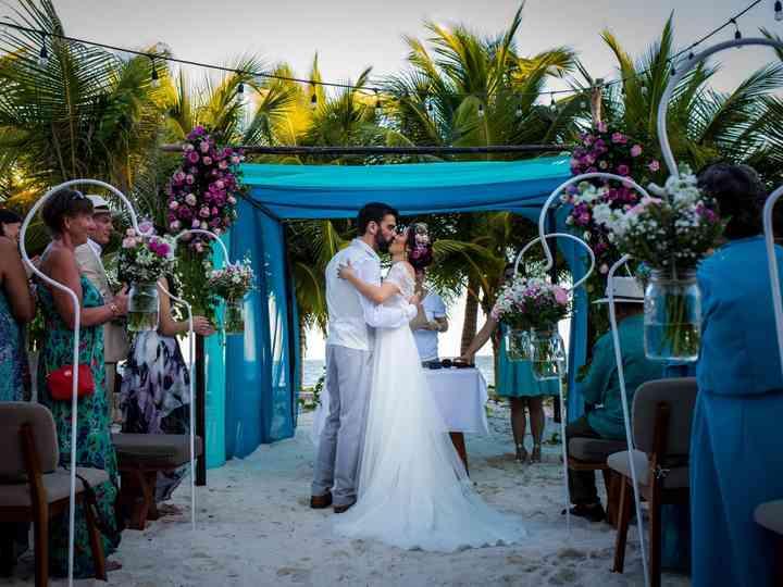 La boda de Dalinda y Richard
