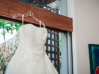 La boda de Mildred y Issac 1