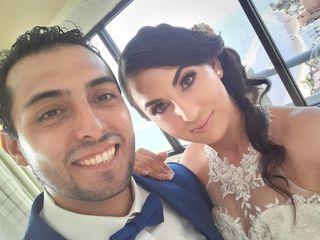 La boda de Kenia y Gera