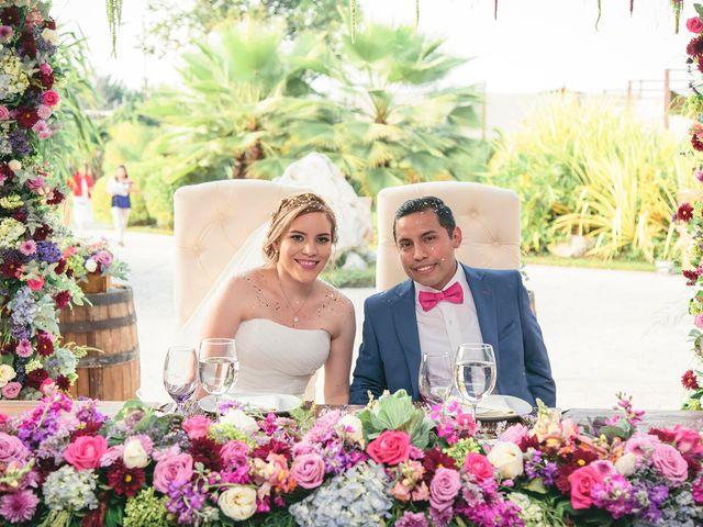 La boda de Mildred y Issac