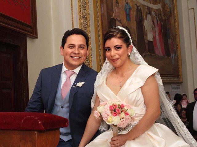 La boda de María Guadalupe y Miguel Ángel
