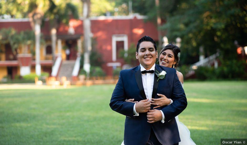 La boda de Yadiel y Fernanda en Mérida, Yucatán