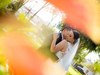 La boda de Clau y Gama