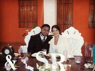 La boda de Evelyn y David