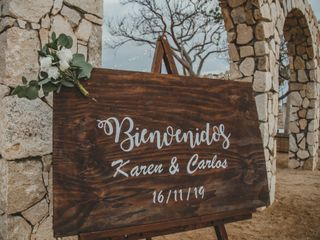 La boda de Karen y Carlos 1