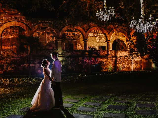 La boda de Marycruz y James