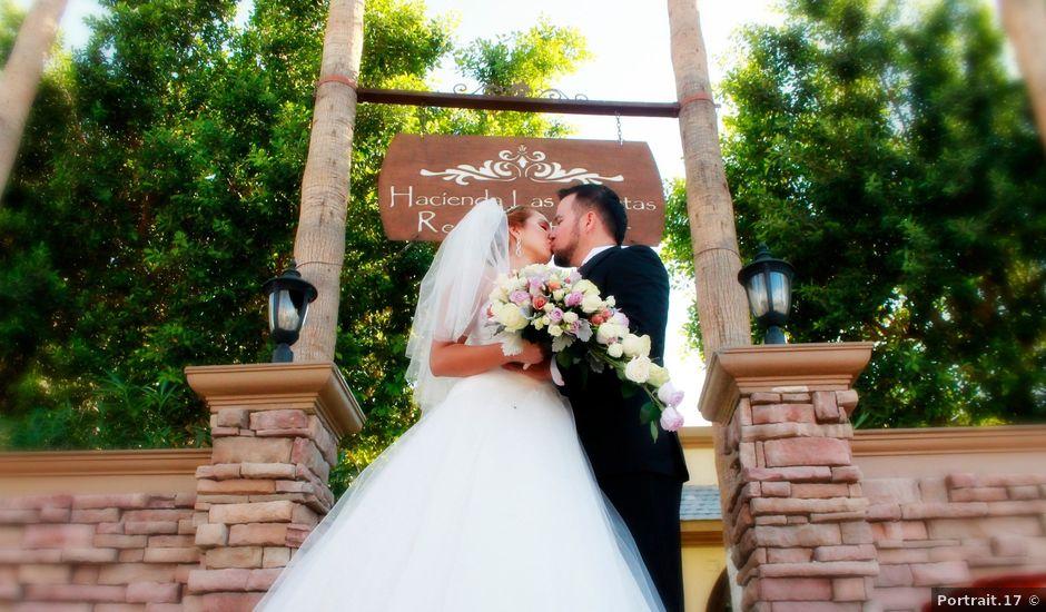 La boda de isaias y sandra en mexicali baja california for Jardin xochimilco mexicali