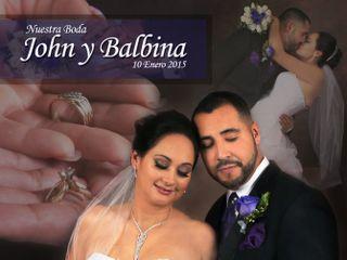 La boda de BALBINA y JOHN 1