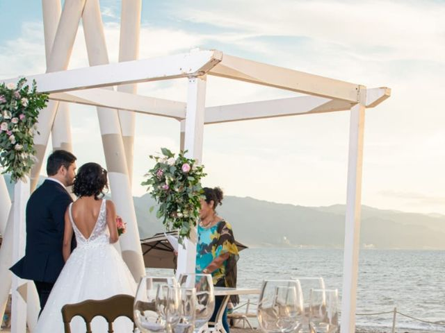 La boda de Omar Alejandro   y Jatzivet Yazmin en Puerto Vallarta, Jalisco 6