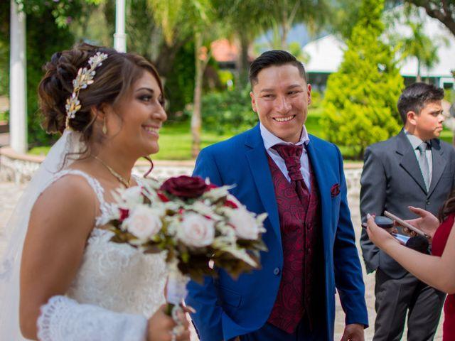 La boda de Julio y Samantha en Texcoco, Estado México 26