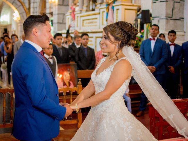 La boda de Julio y Samantha en Texcoco, Estado México 33