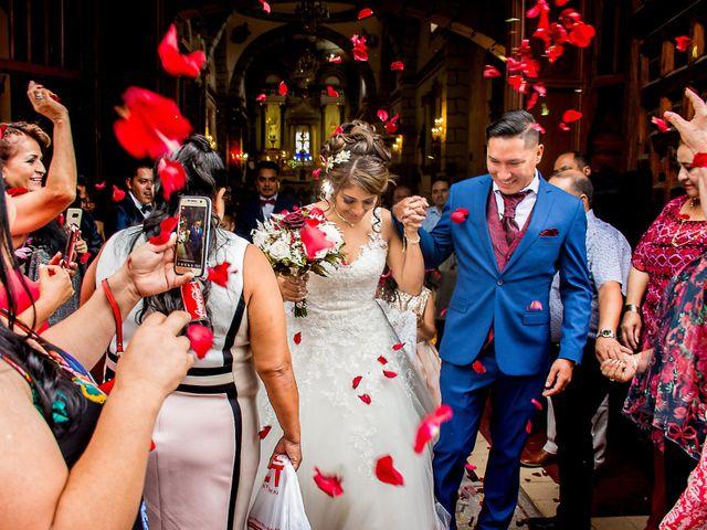 La boda de Julio y Samantha en Texcoco, Estado México 44