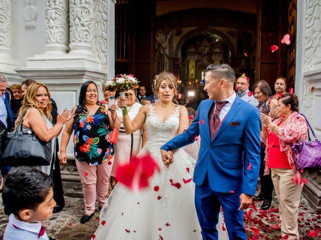 La boda de Julio y Samantha en Texcoco, Estado México 45