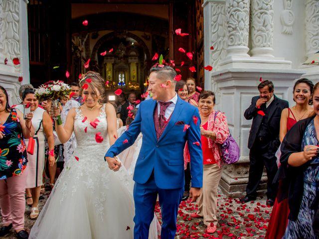 La boda de Julio y Samantha en Texcoco, Estado México 46