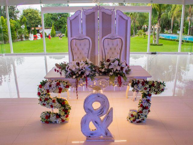 La boda de Julio y Samantha en Texcoco, Estado México 49