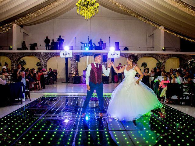 La boda de Julio y Samantha en Texcoco, Estado México 55
