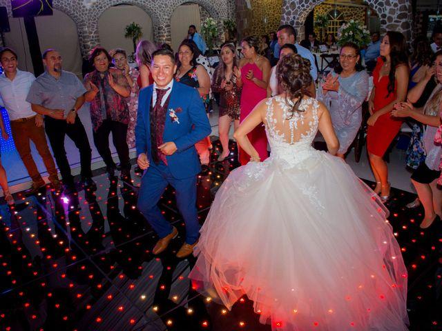 La boda de Julio y Samantha en Texcoco, Estado México 57