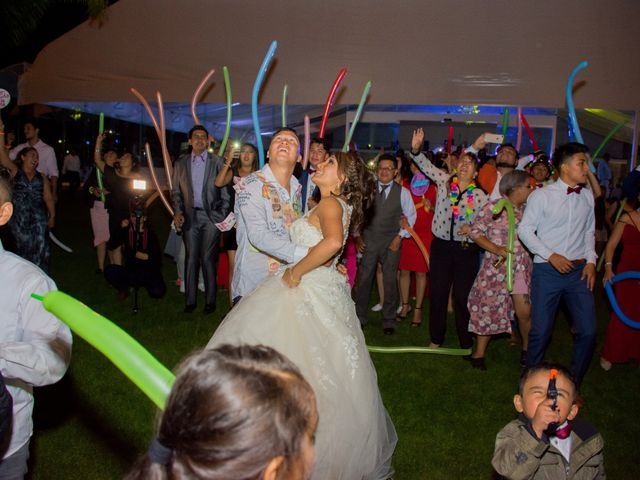La boda de Julio y Samantha en Texcoco, Estado México 66