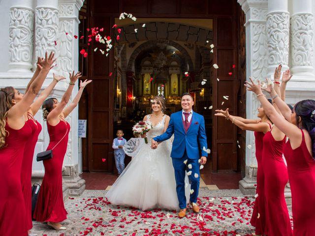 La boda de Julio y Samantha en Texcoco, Estado México 2