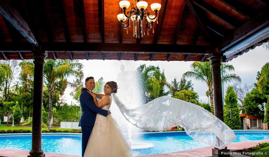 La boda de Julio y Samantha en Texcoco, Estado México