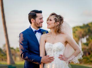 La boda de Fátima y César