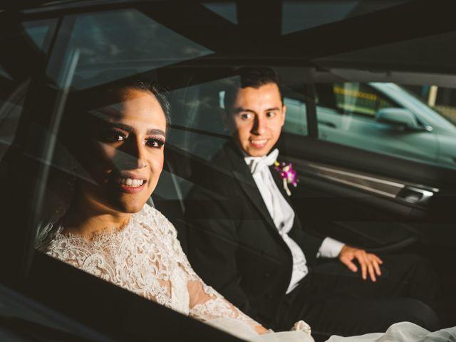 La boda de Claudia y Adrián