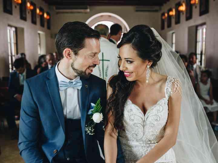 La boda de Alejandra y Kieran