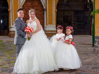 La boda de Ahinela y Jair