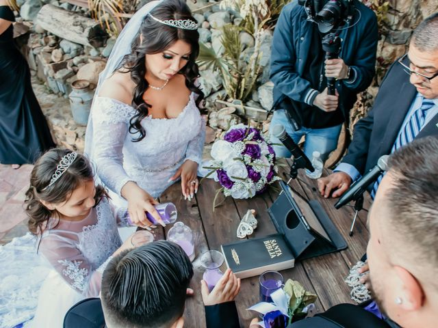 La boda de Érick y Esmie en Tecate, Baja California 2