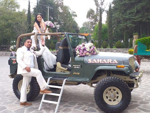 La boda de Sarahi y José