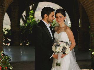 La boda de Aly y Luis