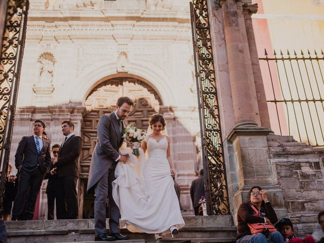 La boda de Majo y Javier